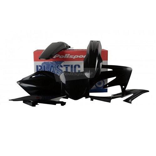 BOX KIT HONDA CRF250R 08 BLACK