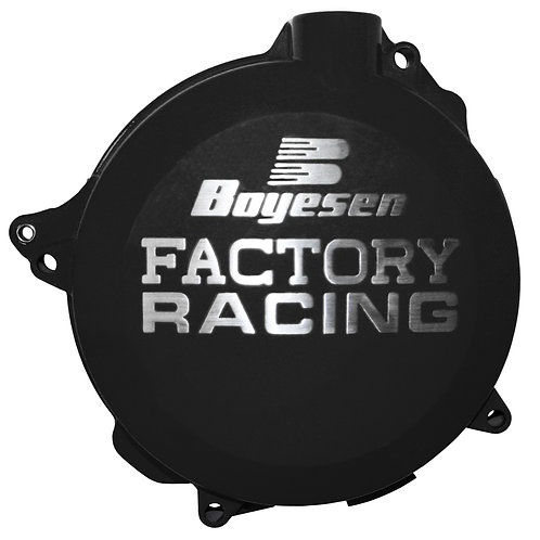 CLUTCH COVER YAMAHA YZ250 99-18, YZ250X 16-18 BLACK / BLUE