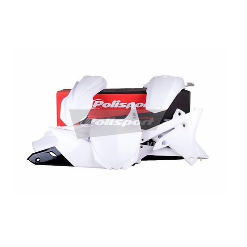 BOX KIT YAMAHA YZ250F 14-18, YZ450F 14-17 WHITE