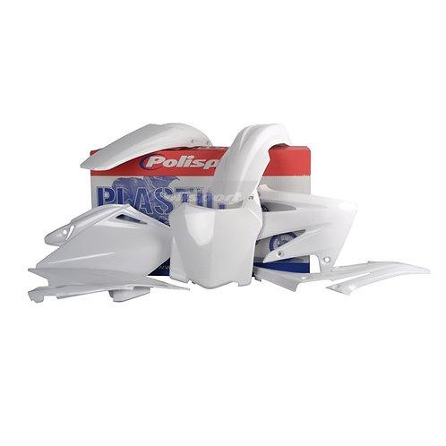 BOX KIT HONDA CRF250R 08 WHITE