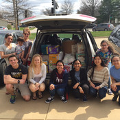 Fort Zumwalt South NHS students collect donations