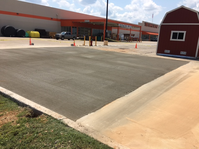 Home Depot Concrete Replacement