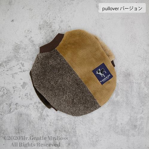 ☆Brown パネルストライプ ☆シリーズ プルオーバー
