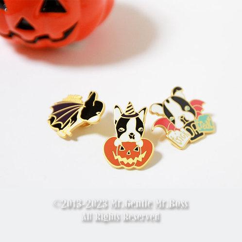 -Boston Terrier's Halloweenセット-