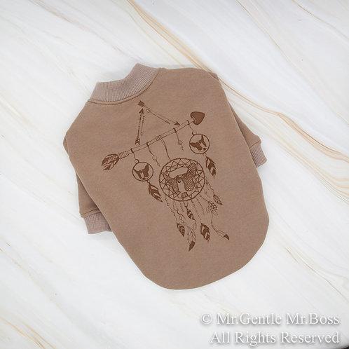 Dream Catcherスウェットシャツ☆チョコレートブラウン