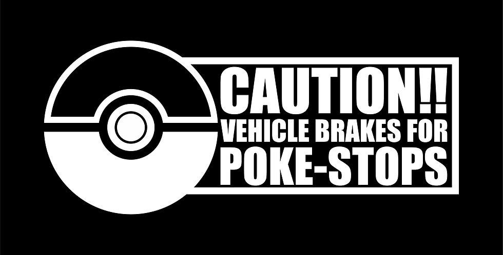 Vehicle Brakes For PokèStops