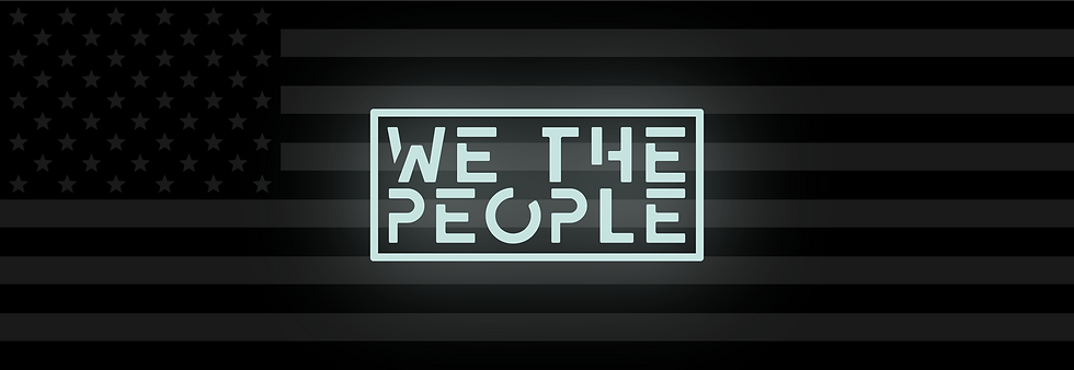 We The People Banner