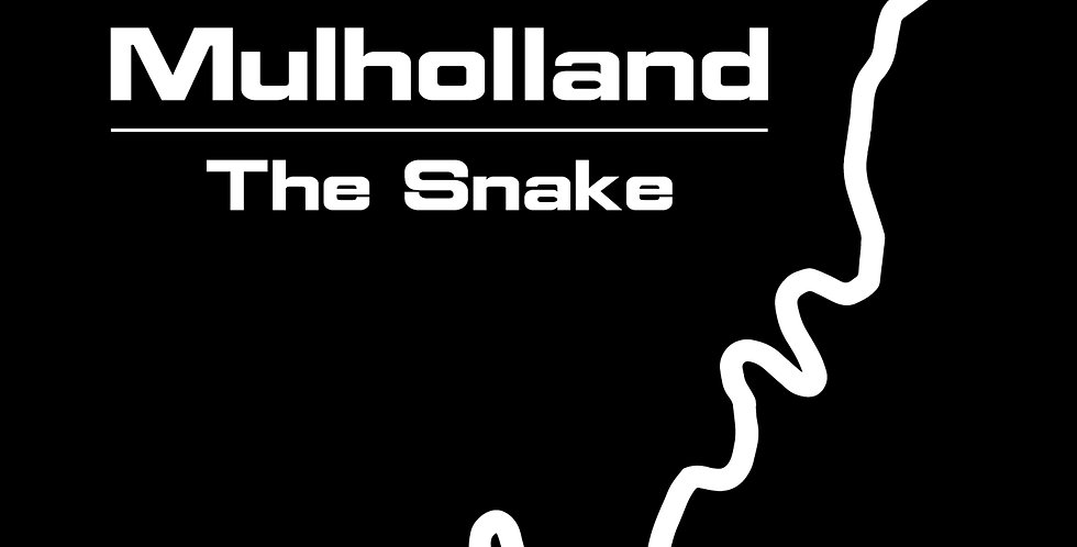 Mulholland/The Snake Decal