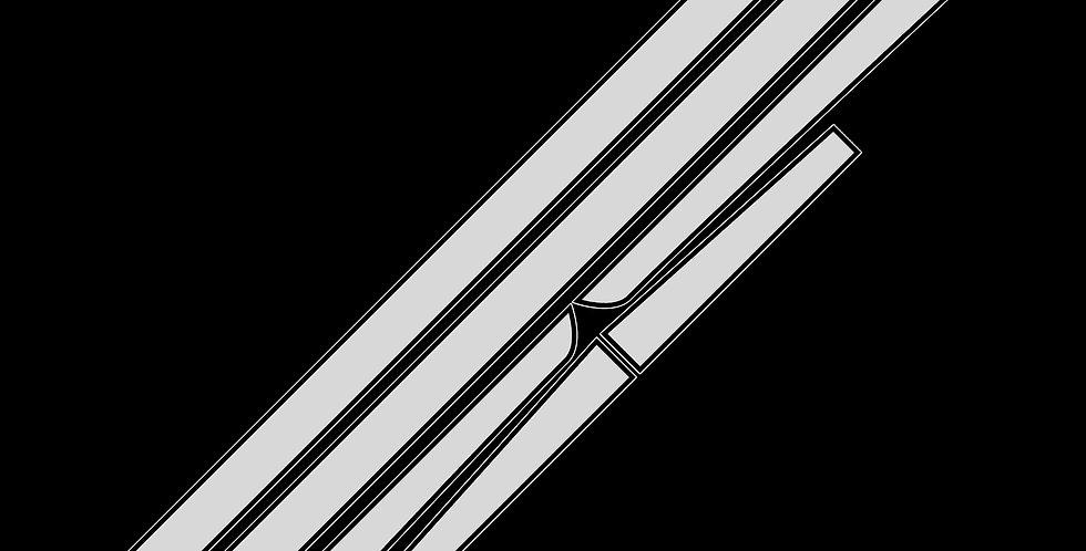 FIAT 500 Tribute Stripes (Thin)
