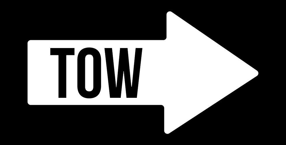 Tow Arrow Decal