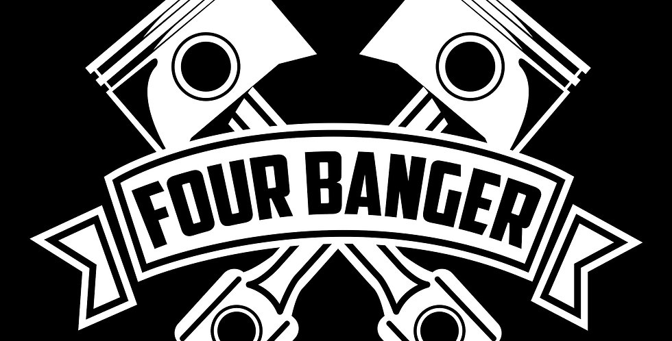 Four Banger Decal