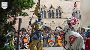 Fête médiévale à Cordes