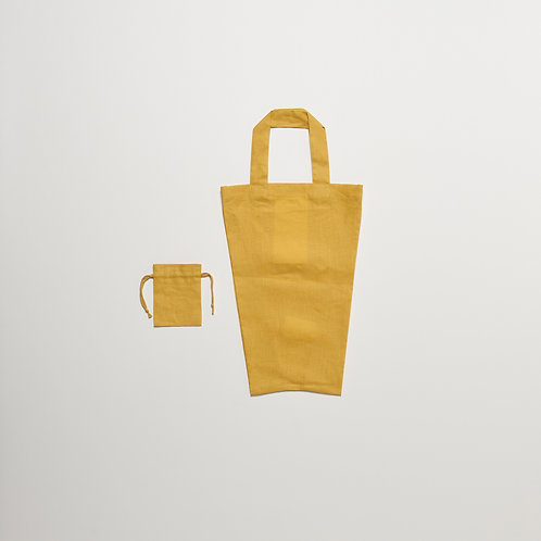 RnR LUNCH BOX TOTE Stem Yellow