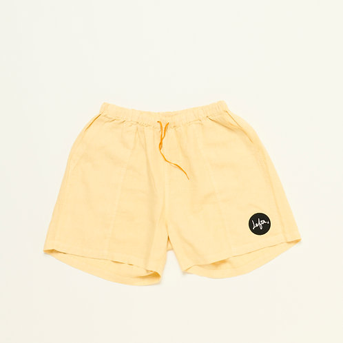 ANYBODY'S ONE SHORTS Turmeric Yellow