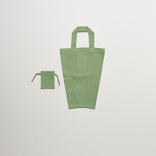 RnR LUNCH BOX TOTE Stem Green