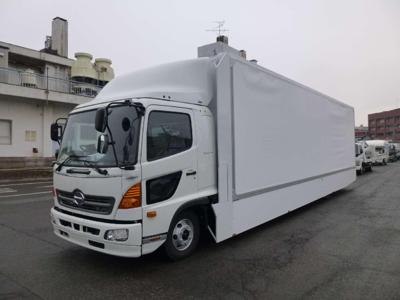 4トン超超ロングアドトラックの製作