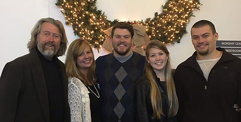 Pastor Doug Steeves and his family