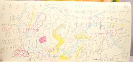 scribbling