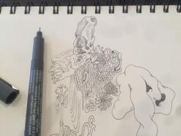 pen drawing 2017.4