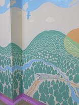 休憩所壁画