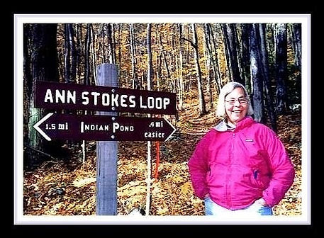 madame sherri - Ann Stokes with sign to