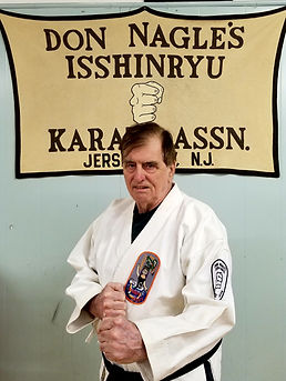 Dennis Hoare, Black Belt, Isshinryu Karate
