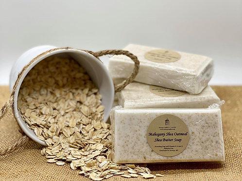 Mahogany Shea Oatmeal Shea Butter Soap, 3.5 oz bar