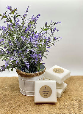 Lavender Goat's Milk Soap, 3.5 oz bar