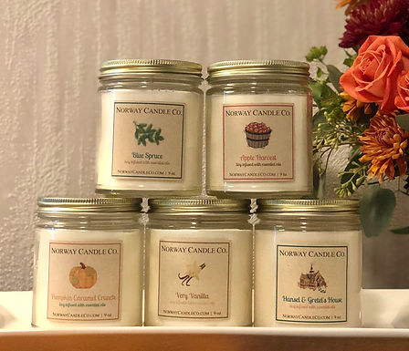9 oz. Bulk Orders (Holiday Scents)