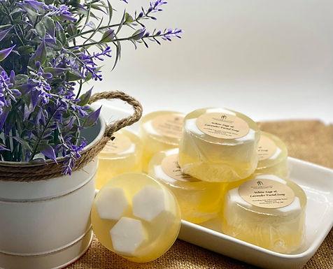 White Sage & Lavender Honeycomb Facial Soap, 3.4 oz