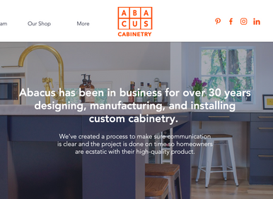 We dusted off our website!
