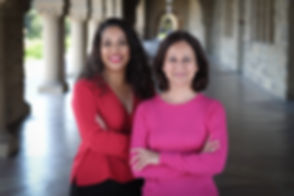 Yasmin and Seema Stanford image Jan 2019