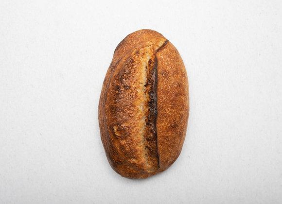 Pšenično-žitný kvasový chleba