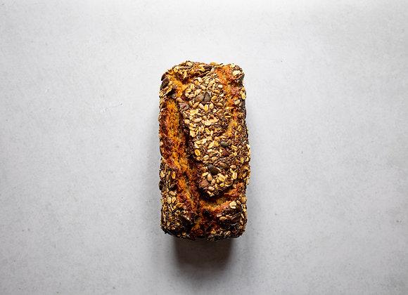 Žitný kvasový chleba sypaný semínky