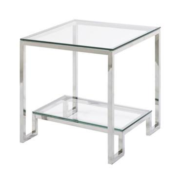 Krista End Table Chrome