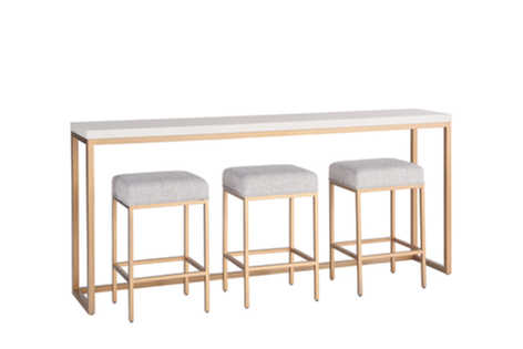 LJB Console Table w/ Stools