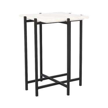 Function Side Table - White/Black