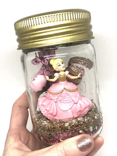 Small Pink Cinderella Lantern