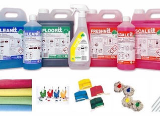 Make colour your key to cleaning safety.