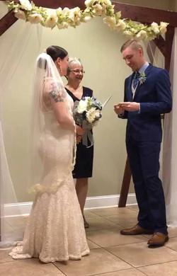 camp blanding wedding