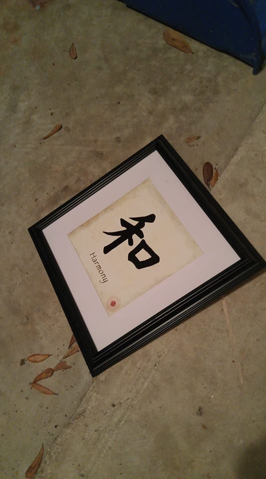 HARMONY picture with frame