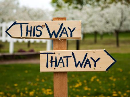Decisions, decisions.....