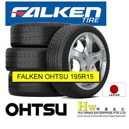 195R15 Falken Ohtsu Japan