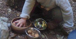Atelier Montessori 0-3 ans... en forêt !