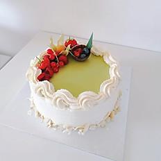 Pandan Fresh Cream Cake