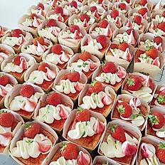 Strawberry Hokkaido Cupcakes