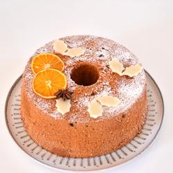 Christmas Orange Chiffon Cake