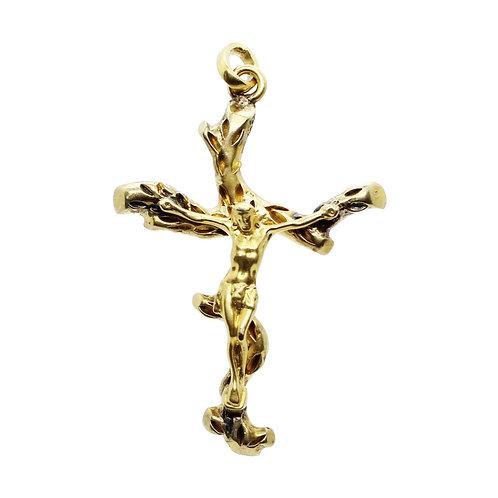 Colgante 18k Cristo en la Cruz