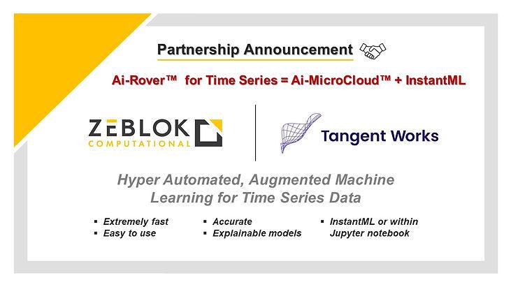 Tangent Works and Zeblok Partnership ann