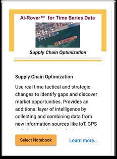 Supply Chain Optimization Notebook card.